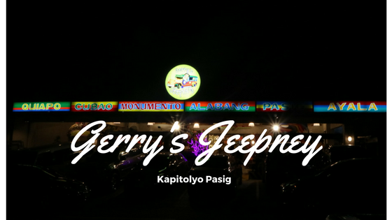 Gerry's Jeepney: Not just your Typical Jeepney Ride