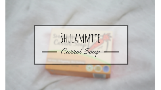 Product Review: Shulammite CarrotSoap