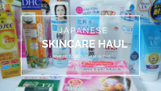 Japanese Skincare Haul + Where to buy them in the Philippines