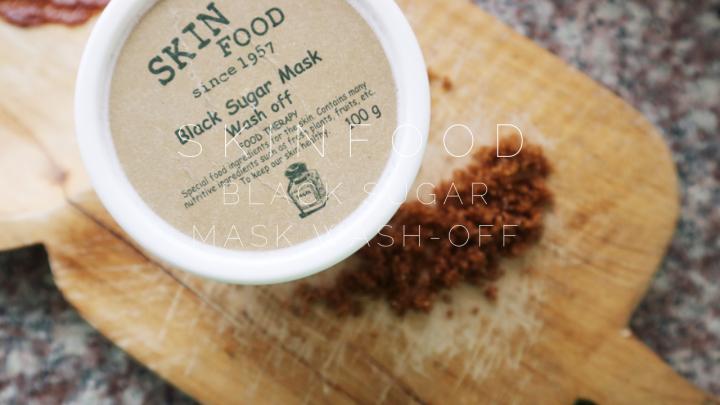 Skinfood Black Sugar Mask Wash OffReview
